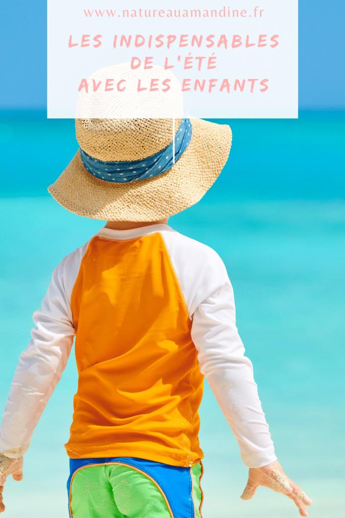 bébé enfants baby child été soleil plage sun summer protéger naturopathie troyes maillotdebain chapeau france natureauamandine