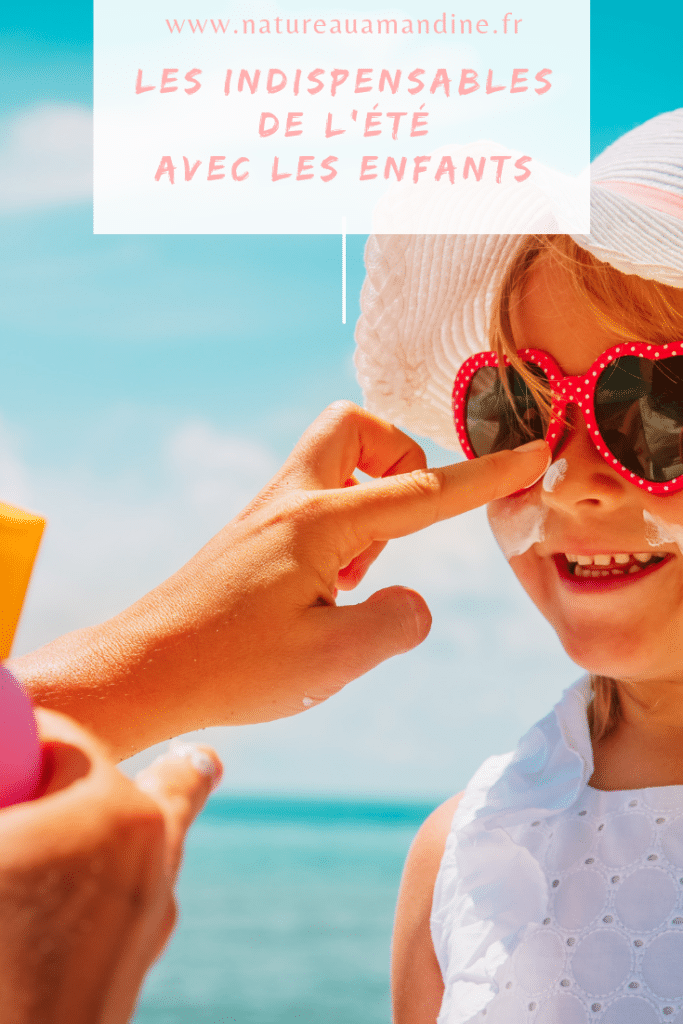 bébé enfant baby child soleil été sun summer crème solaire naturopathie natureauamandine troyes france francophone protéger vacances plage